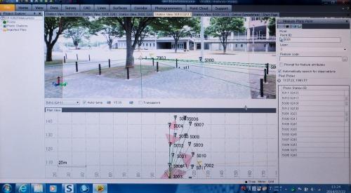 パソコンに撮影した写真を取り込み、処理すると3D写真として利用できる