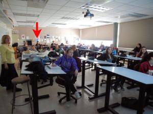 サンフランシスコ州立大学でのインテリアデザインの授業風景