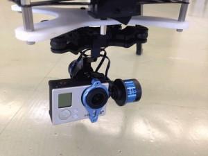 UAVには様々なカメラやセンサーを搭載できる