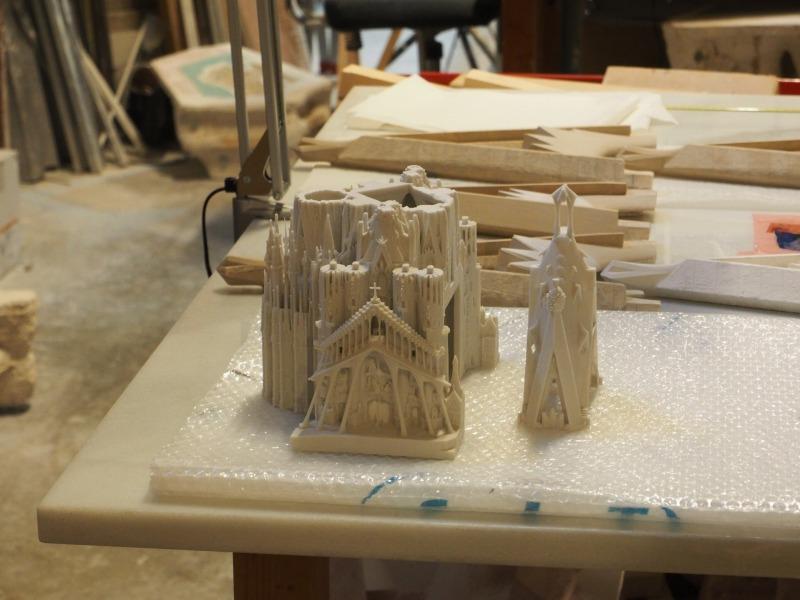 3Dプリンターで作ったと思われる模型