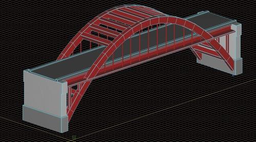 橋のモデル作成例