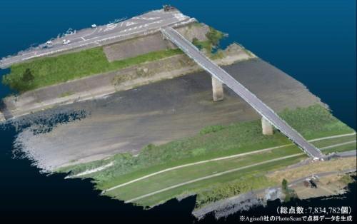 橋の3Dモデリング