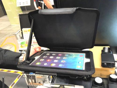 iPad専用のプロテクトケース「Gamban」(写真:特記以外は家入龍太)
