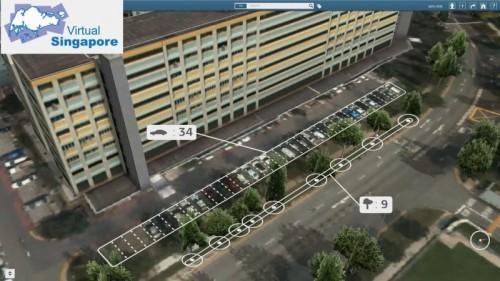 駐車場の台数や木の本数までも瞬時に表示