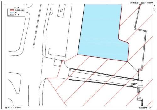 24枚目にある半蔵門の規制図(資料:宮内庁)