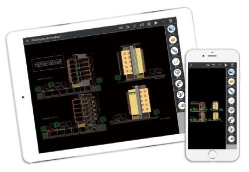 DWG互換CAD「JDraf」のほとんどの機能を使える「ARES Touch」
