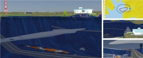 伊勢志摩に建設した巨大テーマパーク「海中水族館」。小学2年生の作品