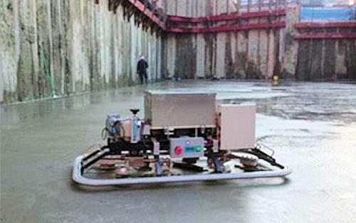 コンクリート床仕上げロボット「T-iROBO Slab Finisher」