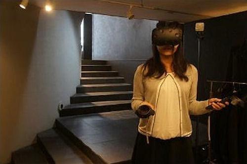 Revitで作ったBIMモデルの中を、VRで自由に歩くイメージ(以下の資料:フリーダムアーキテクツデザイン)