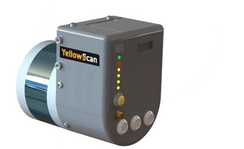 ドローン用の小型3Dレーザースキャナー