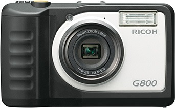 リコーの工事現場用カメラ「G800」(以下の写真:リコー)