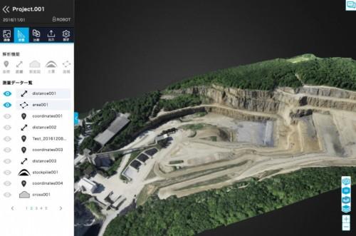 Terra Mapperで3D画像処理を行った例