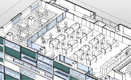 建物のBIMモデル(以下の資料:大成建設)