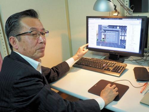 Revitに取り組み、約1年で実施設計まで行えるようになったプランニングピープル代表取締役の栗原洋一さん(写真:家入龍太)