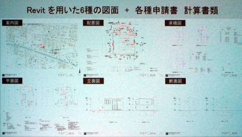 審査機関に提出した6種類の図面(資料:フリーダムアーキテクツデザイン)