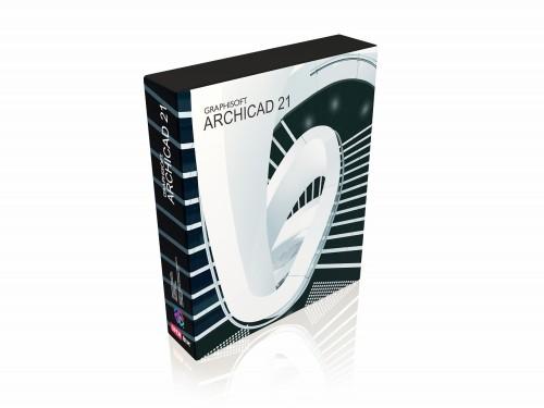 階段機能のパワーアップを前面に打ち出した「ARCHICAD 21」のパッケージ(以下の資料:特記以外はグラフィソフトジャパン)