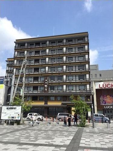 ホテル「御宿野乃奈良」の建物全景