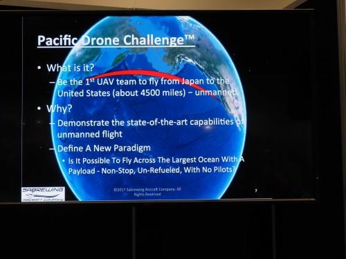 日本からサンノゼまで約4500カイリを無着陸で飛行させるドローンレースの意義