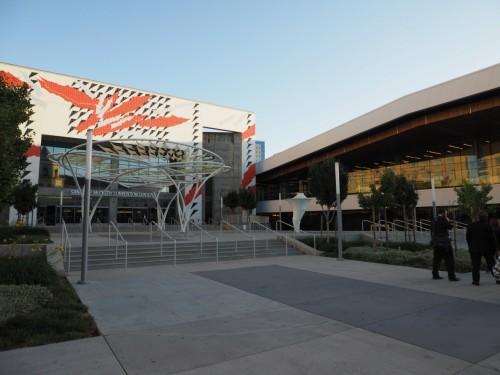 「Drone World Expo 2017」の会場となったサンノゼコンベンションセンター(以下の写真:家入龍太)