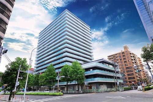 横浜MIDベースタワーレジデンスの完成予想図(以下の資料:横浜市住宅供給公社、エンコアードジャパン、ソフトバンク)