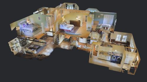 3Dモデルから1階部分をCG化したした画像(クリックすると拡大します)