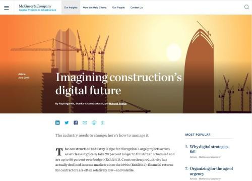 ウェブサイトに公開されているマッキンゼーのレポート(資料:McKinsey)