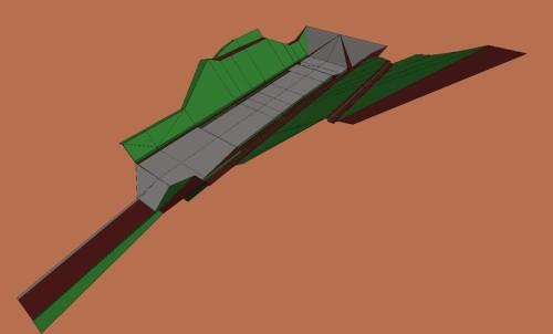 3Dモデルで施工用のデータを作成