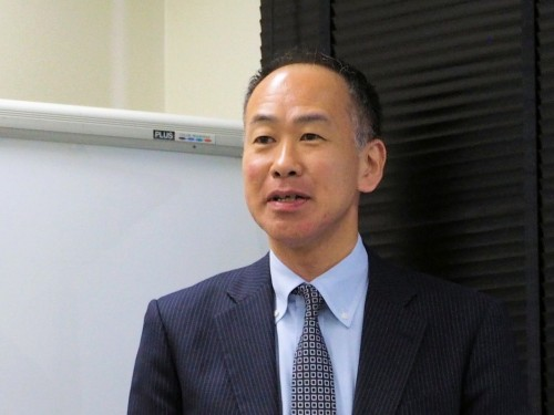 大林組グローバルICT推進室 副部長の 堀内英行氏