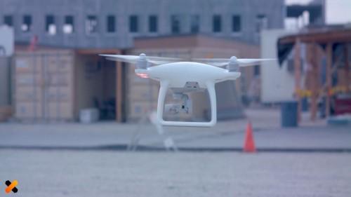 ドローンによる空撮写真による3D計測
