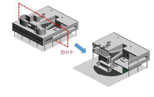 建物の断面を切って検討することも可能