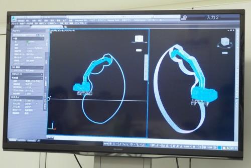 可動域が正確に再現された建機の3Dモデル