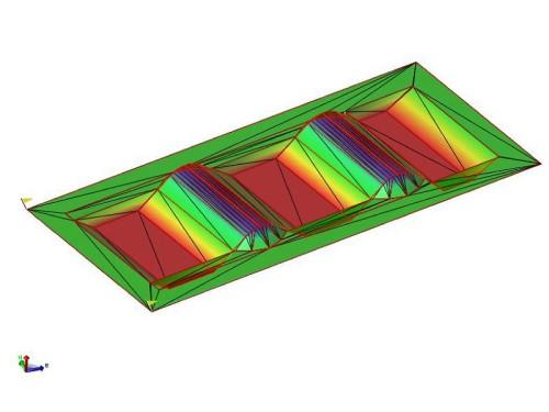 「ローリングマッド」の施工に用いられた3Dモデル
