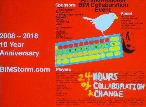 10周年を迎えた「BIMStorm」のイメージ