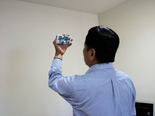 VRゴーグルを持っていなくても、がんばれば立体視ができた