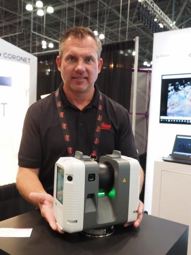 ライカ・ジオシステムズの小型3Dレーザースキャナー「RTC360」