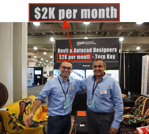 インド・ISP社はBIMオペレーターを1カ月2000ドルで提供するサービスを展示