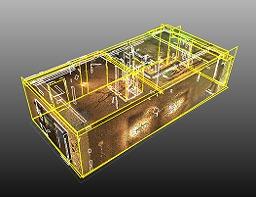床や壁の平面を自動認識し、角を生成する