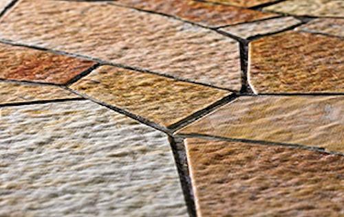Mofrelで試作した石タイルのモックアップの例