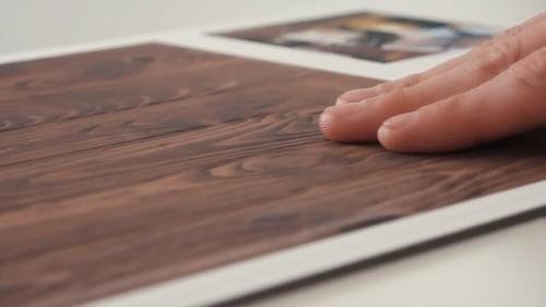 フローリングなどに使う木材の質感もよく出ている