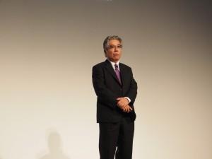 特別講演「鉄道車両のデザイン-過去・現在・未来」を行った近畿車輌取締役設計室長の南井健治氏