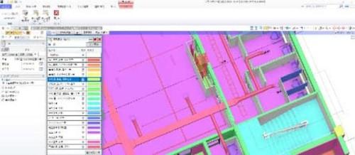 拡張された4Dシミュレーション機能。施工ステップごとに色分け表示することも可能になった