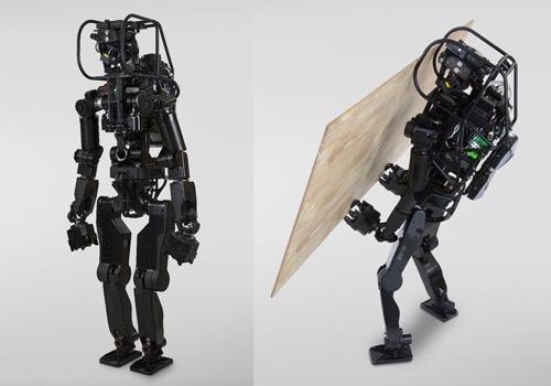 重労働作業を行えるロボットを目指した試作機「HRP-5P」(以下の写真、資料:産業技術総合研究所)