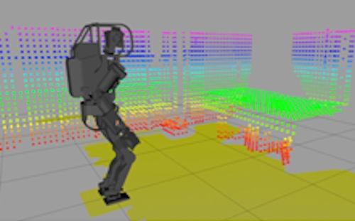 0.3秒ごとに作成する3D地図