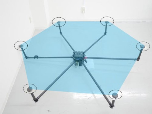 「Terra Lidar」の測位装置