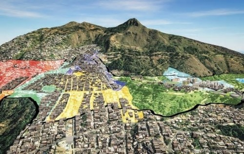Empresa Desarrollo Urbano de Medellinによる、コロンビアのアンティオキア県の MIB-micro scale  urban planning methodology