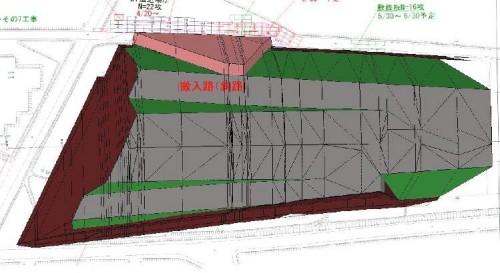 計画に使われた3Dデータ