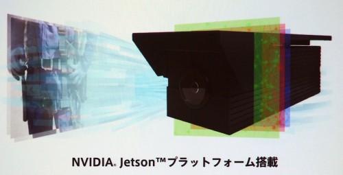 AIが実装された「エッジAIカメラ MRM-900」