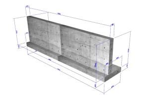 擁壁の設計・3D配筋