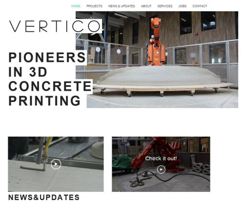 VERTICOのウェブサイト(特記以外の写真、資料:Courtesy of VERTICO)