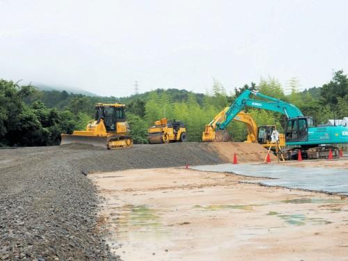 ICT建機などの講習が行われているトプコンの神戸トレーニングセンター
